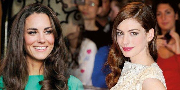 Hathaway will Kate Middleton spielen