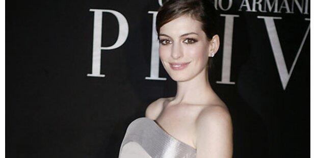 Anna Hathaway ist Oscar-Glücksfee