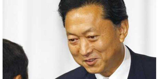 Hatoyama neuer Regierungschef Japans