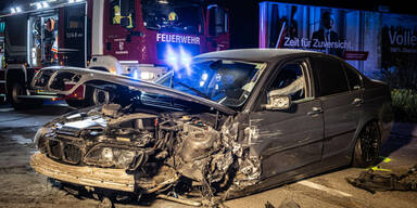 Raser sorgt für Unfall mit drei Verletzten