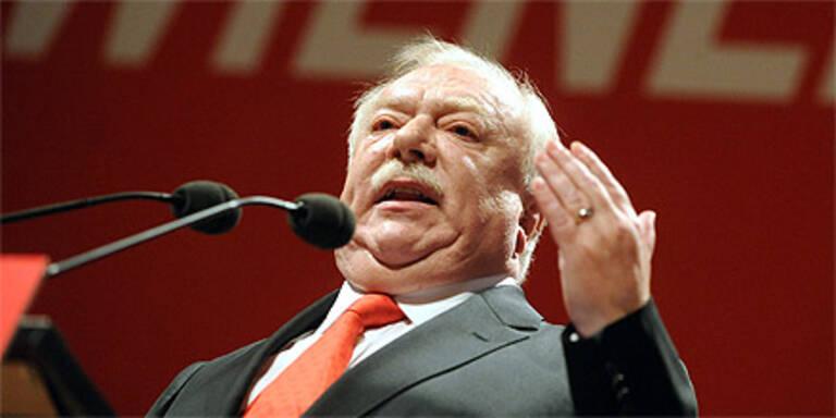 SP-Parteitag: Nur 89,2 % für Häupl