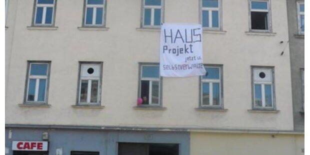 Initiative besetzt Gebäude in Wien