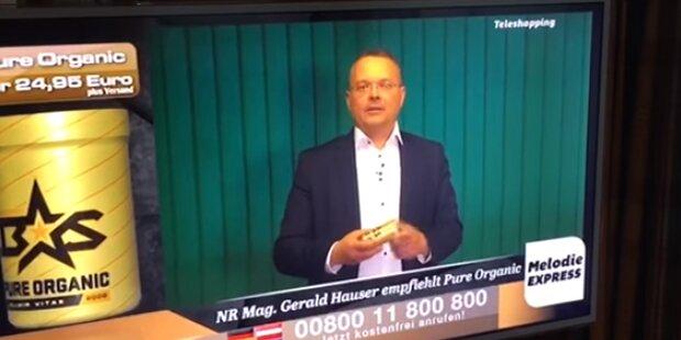 FPÖ-Politiker wirbt für russischen Honig