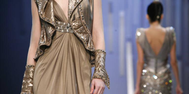 Haute Couture ist gefragt