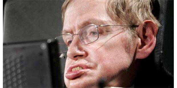 Genie Stephen Hawking im Krankenhaus