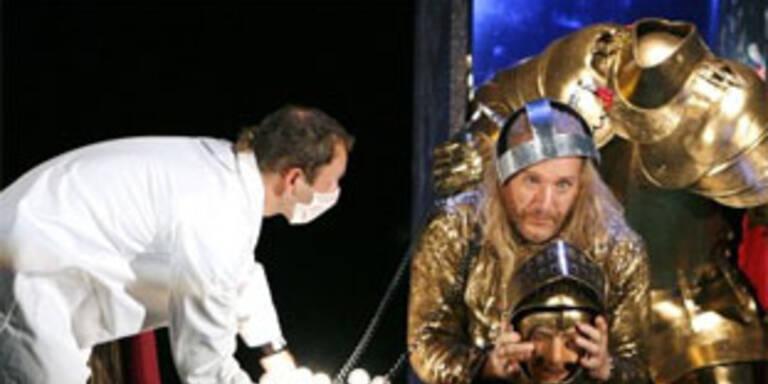 """Kurt Streit (r.) als """"Orlando"""" in Haydns """"Orlando Paladino"""" am Theater an der Wien"""