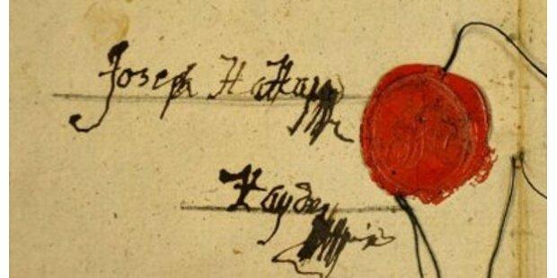 Haydns letzter Wille im Internet