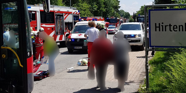 Unfall Hirtenberg