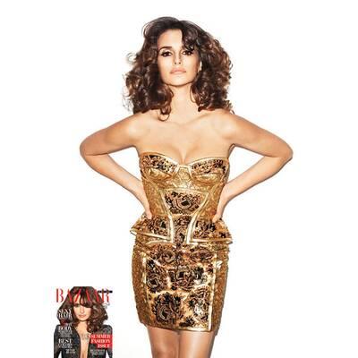 Penelope Cruz für Harper's Bazaar