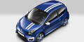 Die Ralley-Streifen stehen dem Twingo hervorragend. Bild: Renault