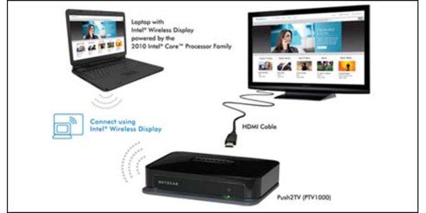 Kabellose Übertragung von HD-Signalen