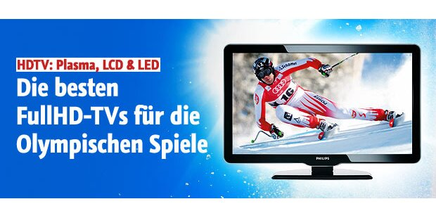 Die besten FullHD- Fernseher für Olympia
