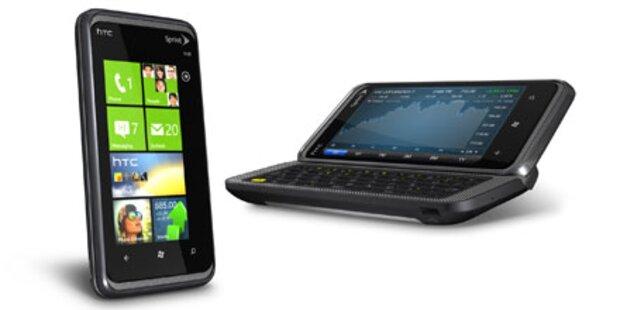 Top-Smartphone HTC 7 Pro startet ab 0 Euro