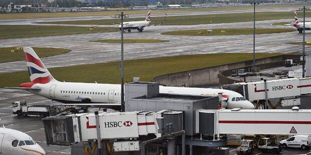 Heathrow: Ein Toter bei Kollision
