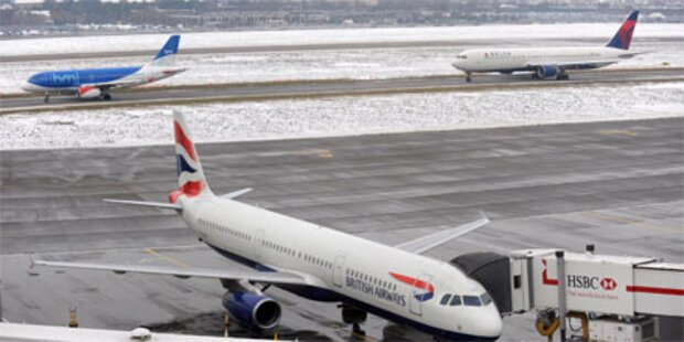 Flugverkehr erholt sich vom Wetterchaos