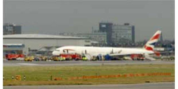 Nach Bruchlandung fielen erneut Heathrow-Flüge aus