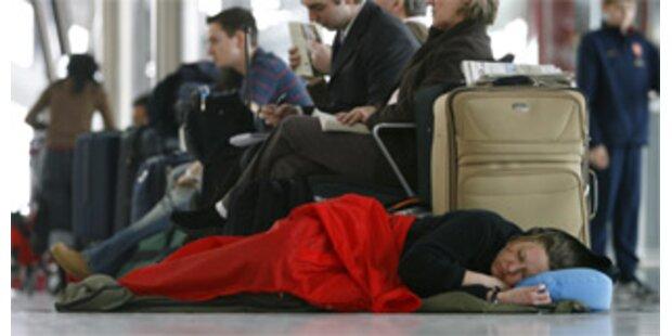 Heathrow sagte 130 Flüge wegen Schneefalls ab