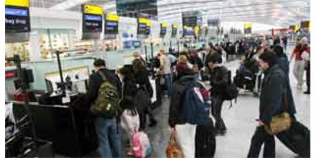 Wieder Flugstreichungen in Heathrow
