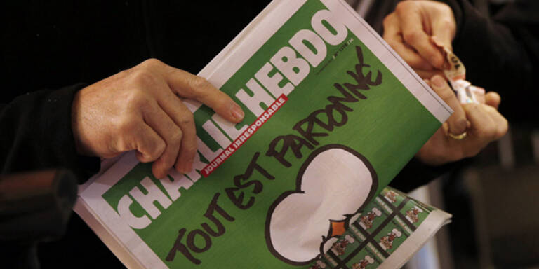 "Mega-Ansturm auf ""Charlie Hebdo"""