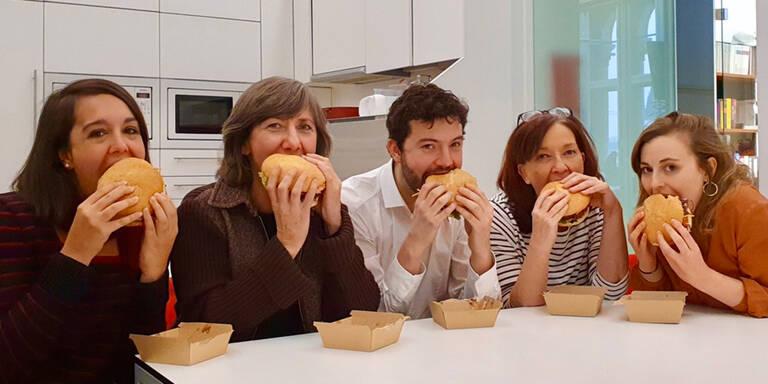 Solidaritäts-Lunch: Wiener Grüne kontern auf Burger-Kritik