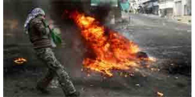 Palästinenser bitten Sicherheitsrat um Hilfe