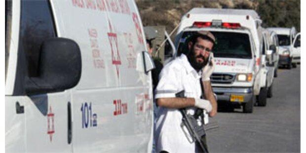 Vier Tote bei Schießerei in Hebron