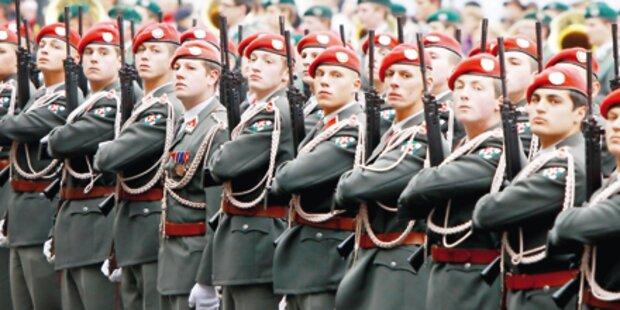 ÖVP stoppt  Heeres-  Reform