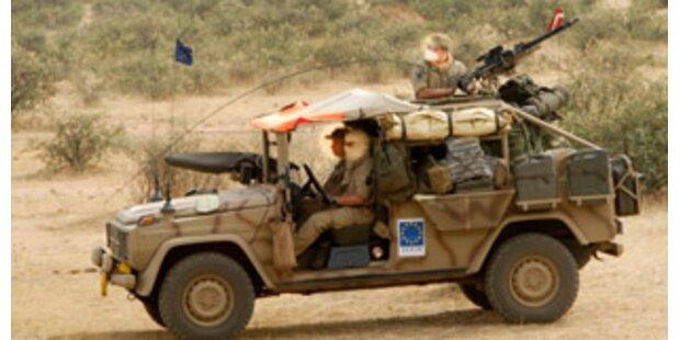 Rettendes Bundesheer bei Katastrophe von Darfur