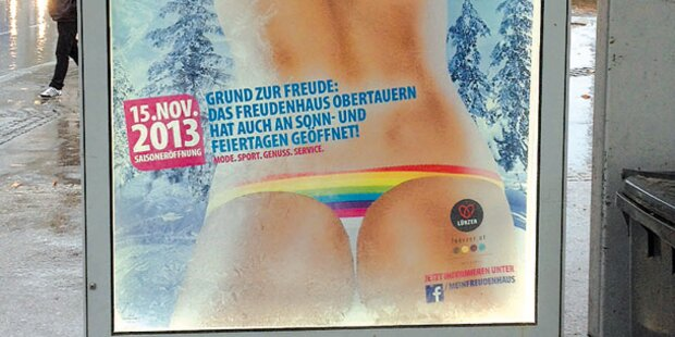 Freudenhaus-Plakat ärgert Watchgroup