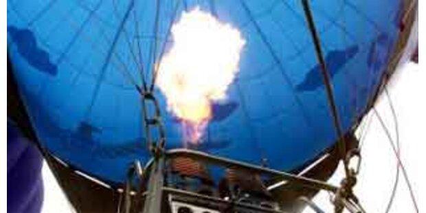 Heißluftballon in OÖ notgelandet