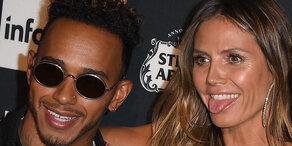 Hat Heidi Klum Affäre mit Lewis Hamilton?