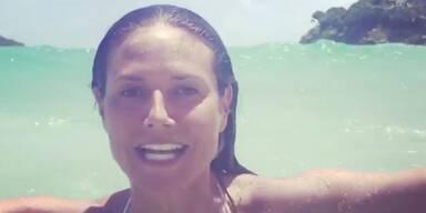 Heidi Klum: Bade-Spaß und Mode-Hit