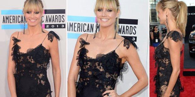 Heidi Klum zeigt keinen Bauch bei AMAs
