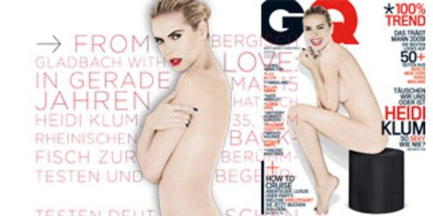 Heidi Klum nackt in GQ!