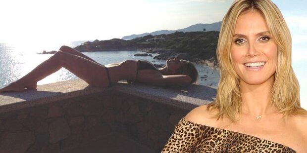 Heidi Klum zeigt sexy Bikini-Body