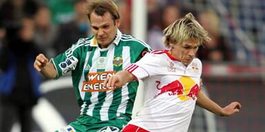 Heikkinen rettet Punkt für Rapid