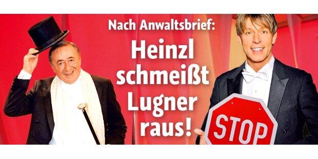 Heinzl schmeißt Lugner raus!