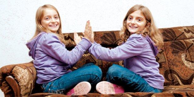 Asly-Zwillinge sind wieder daheim