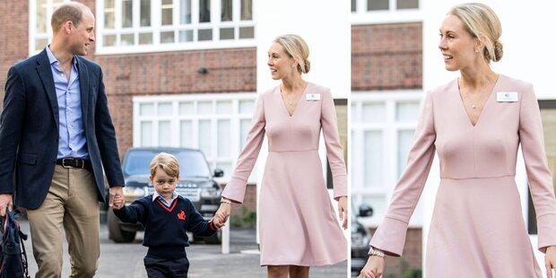 Prinz George: Alle finden seine Direktorin scharf