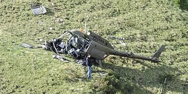 Hubschrauber-Absturz Bundesheer