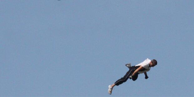 Stuntman stürzt 200 Meter in den Tod