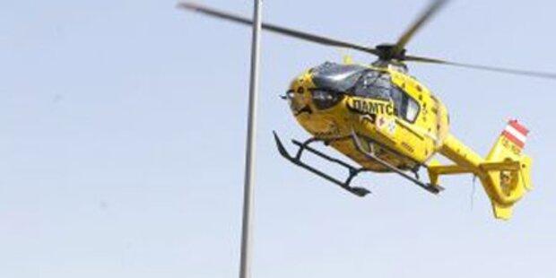 Leonding: Schwerverletzter bei Frontalem