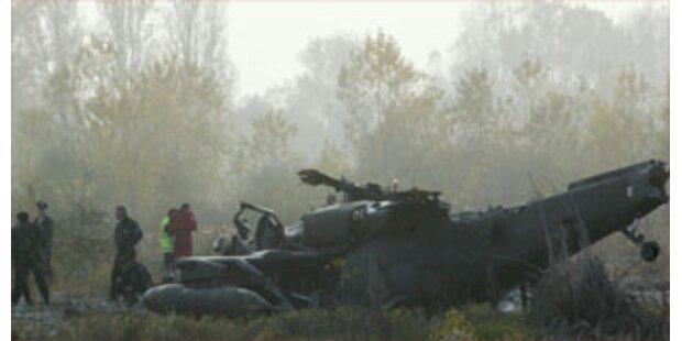 Blackhawk-Hubschrauber in Italien abgestürzt