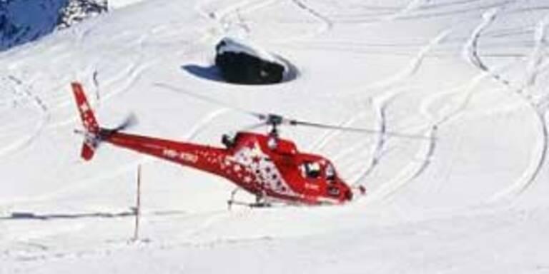 Frontal-Crash zweier Skifahrer in Zürs