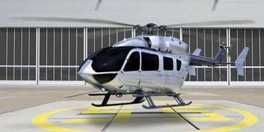 Mercedes designte einen Hubschrauber