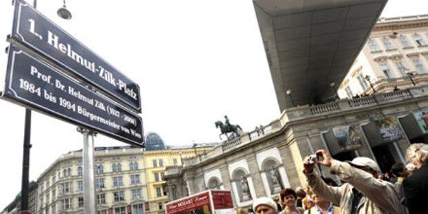 Wien hat nun seinen Helmut-Zilk-Platz