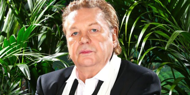 Helmut Berger auf dem Opernball