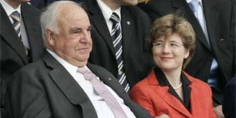 Helmut Kohl mit Lebensgefährtin Maike Richter
