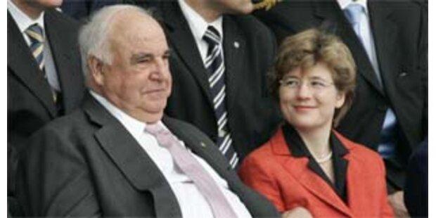 Helmut Kohl heiratet 35 Jahre jüngere Frau