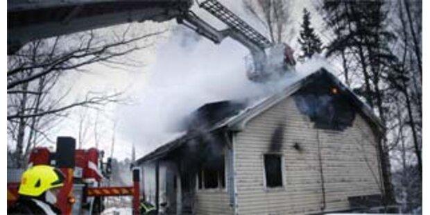 Fünf tote bei Brand in Finnland